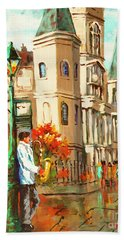 Cathedral Jazz Beach Towel
