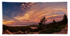 Cathedral Lookout Sunset Luminosity Beach Towel