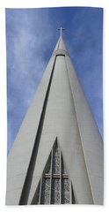 Cathedral Minor Basilica Our Lady Of Glory Beach Towel