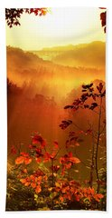 Cathedral Of Light - Special Crop Beach Towel by Rob Blair
