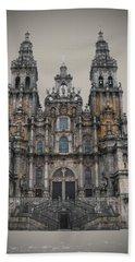 Cathedral Of Santiago De Compostela Beach Towel