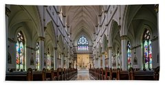 Cathedral Of St. John The Baptist Beach Towel