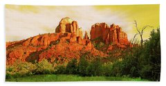 Cathedral Rock Az Beach Towel
