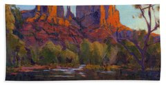 Cathedral Rock, Sedona Beach Towel