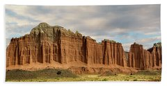 Cathedral Valley Wall Beach Towel