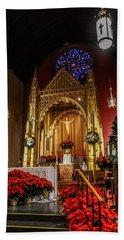 Catholic Christmas Beach Sheet
