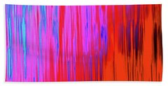 Cattails Beach Towel by Tony Beck