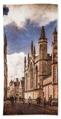 Oxford, England - Catte Street Beach Sheet