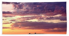 Cattle Ridge Sunset Beach Towel