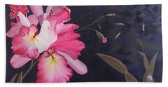 Cattleya Beach Towel