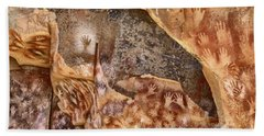 Cave Of The Hands Patagonia Argentina Beach Towel