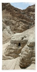 Caves Of The Dead Sea Scrolls Beach Sheet