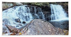 Cayuga Falls 3 - Ricketts Glen Beach Towel