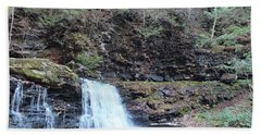 Cayuga Falls 4 - Rictetts Glen Beach Towel