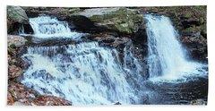 Cayuga Falls - Ricketts Glen Beach Towel
