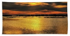 Ceader Key Florida  Beach Towel by Louis Ferreira