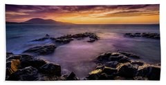 Ceapabhal And Traigh Mohr, Isle Of Harris Beach Towel