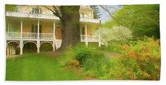 Cedar Grove In Spring Beach Sheet