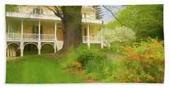 Cedar Grove In Spring Beach Towel