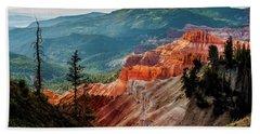 Beach Towel featuring the photograph Cedar Mountains From Cedar Breaks by TL Mair