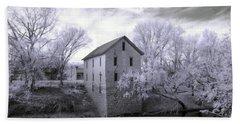 Cedar Point Mill In Infrared Beach Sheet