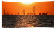 Cedar Point Skyline 2 Beach Towel