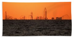 Cedar Point Skyline Beach Towel