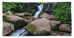 Cedar Rock Falls Beach Towel