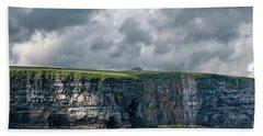 Ceide Cliffs Beach Towel