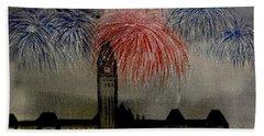 Celebrate Beach Towel by Betty-Anne McDonald