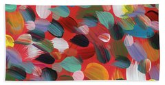 Celebration Day- Art By Linda Woods Beach Towel