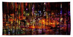 Celebration In The City Beach Towel