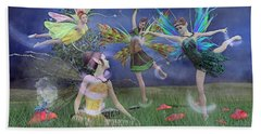 Celebration Of Night Alice And Oz Beach Towel