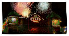 Celebrate Texas Beach Towel by Suzanne Powers