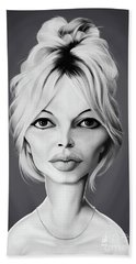 Celebrity Sunday - Brigitte Bardot Beach Towel