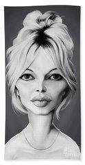 Celebrity Sunday - Brigitte Bardot Beach Sheet