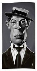 Celebrity Sunday - Buster Keaton Beach Towel