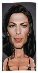 Celebrity Sunday - Claudia Black Beach Sheet