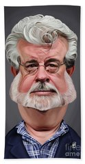 Celebrity Sunday - George Lucas Beach Towel