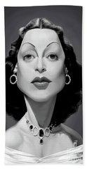 Celebrity Sunday - Hedy Lamarr Beach Sheet
