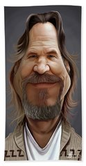 Celebrity Sunday - Jeff Bridges Beach Towel