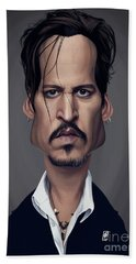 Celebrity Sunday - Johnny Depp Beach Towel
