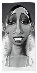 Celebrity Sunday - Josephine Baker Beach Sheet