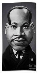 Celebrity Sunday - Martin Luther King Beach Sheet