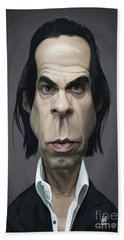 Celebrity Sunday - Nick Cave Beach Towel