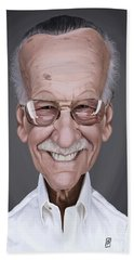 Celebrity Sunday - Stan Lee Beach Towel