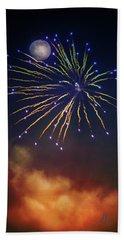 Celestial Celebration  Beach Sheet