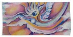Celestial Eye Beach Towel