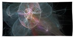 Celestial Jellyfish Beach Towel