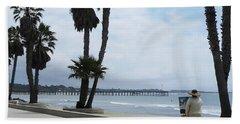 Cell Phone Art Beach Sheet